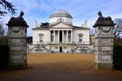 The Neo-Palladian Chiswick House in West London