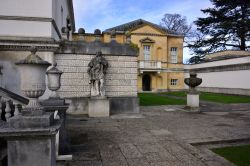 The Statue of Inigo Jones on the Right of the Main Building
