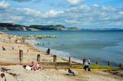 Lyme Regis Beach View