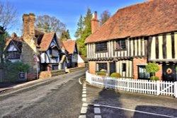 Tudor Style Houses in Ightham Village