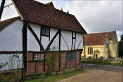 The National Trust Office at Chiddingstone, Kent