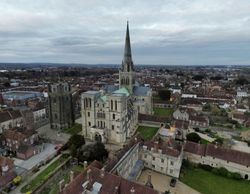 Aerial view of Chichester Cathedral