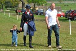 Zara, Mike  & Mia Tindell, Badminton, Gloucestershire 2016 Wallpaper