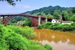 Ironbridge and the Old Ice House in Shropshire