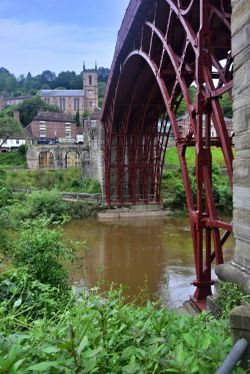 The Ironbridge is a Work of Art as Well as a Feat of Engineering