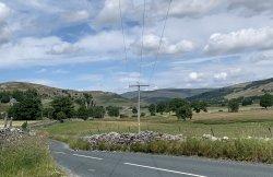 Road to kilnsey from Skipton