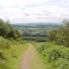A view from on the Malvern hills