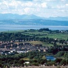 Morcambe bay as seen from Williamson Park, Lancaster,
