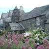 The 14 century Old Post Office at Tintagel, Cornwall