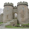 Gatehouse at Whittington Castle