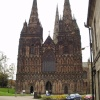 Lichfield Cathedral,The West Door