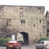 Old City Gate in Alnwick, Northumberland