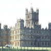 Highclere Castle, Hampshire. Front Side