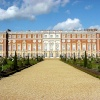Hampton Court Palace and Gardens - Privy Garden and South Facade