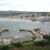 Marazion from St Michaels Mount, Cornwall