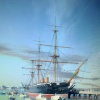 HMS Warrior, The Hard, Portsmouth, Hampshire