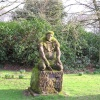 Statue at Norton Priory, Cheshire
