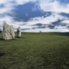 Stones at Avebury, Wiltshire. Feb 2005