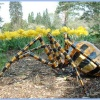 Spider Sculpture at Exbury Gardens