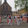 Morris Dancers in Moreton-in-Marsh on May Day 2005