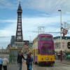 Blackpool Tower and Tram, Blackpool, Lancashire