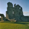 Ogmore Castle, South Wales uk