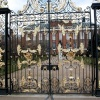 The gates of Kensington Palace, London