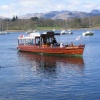 Arriving at Water Head Landings, Ambleside, Windermere Lake, Cumbria. Photo by Kethleen Tappin