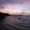 Sunset in Bude, Cornwall