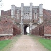 Thornton Abbey, Lincolnshire. Gatehouse front view