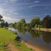 The river Thames, Wallingford, Oxfordshire