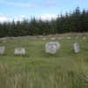 Fernworthy Stone Circle, near Chagford, Devon