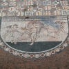 Lullingstone Roman Villa, detail of mosaic floor.