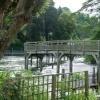 A bridge in Henley, Berkshire, over rushing waters