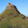 Lindisfarne Castle on Holy Island -