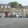 A view in the central business district, Allendale Town, Northumberland