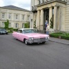 Pink Cadillac at Bath Spa Hotel, Bath.