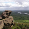 The Roaches, Stafforshire, with Tittersworth reservoir behind