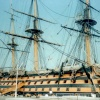 HMS Victory in Royal Naval Museum in Portsmouth, Hampshire