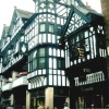 East Gate Street in Chester, Cheshire. Ye Olde Boot Inn Est 1643