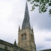 St Mary and All Saints Church in Chesterfield, Derbyshire