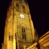 Leeds Parish Church Floodlit