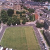 Durham Castle & Cathedral green from the tower