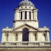 A dome of Royal Naval College in Greenwich, London