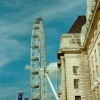 London - London Eye and Old County Hall, Sept 2002