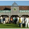 New Pavilion at Broadhalpenny Down Cricket Ground in Hambledon, Hampshire