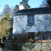 Dove Cottage, the Home of poet William Wordsworth, at Grasmere, The Lake District.