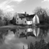 Picture is of Willie Lott's Cottage, Flatford, Suffolk