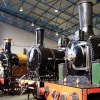 On the turntable at the National Railway Museum, York