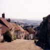 Gold hill, Shaftesbury in Dorset